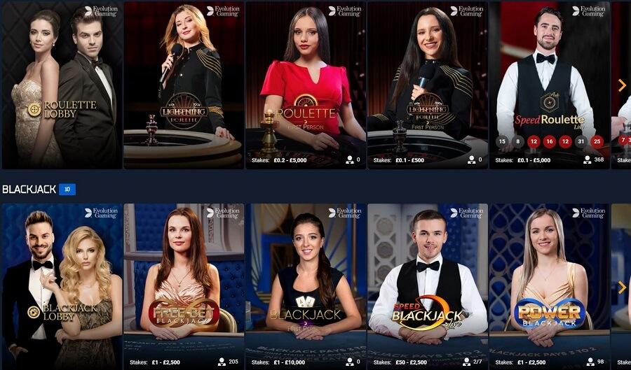 STS Casino Live Casino