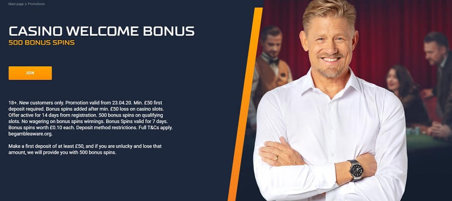 STS Casino Welcome Bonus