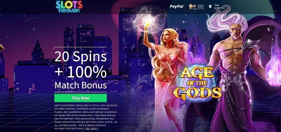 Slots Heaven No Deposit Bonus