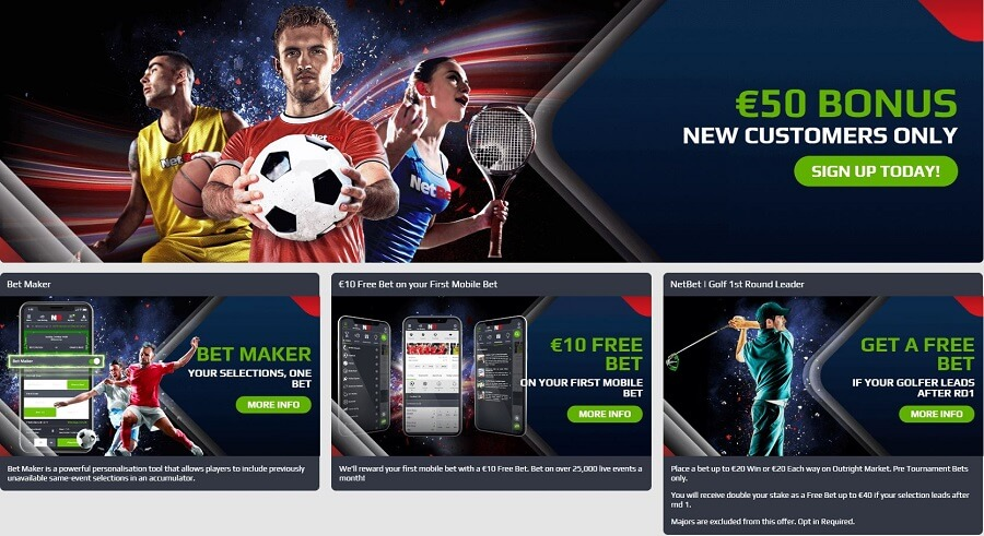 NetBet Promotions
