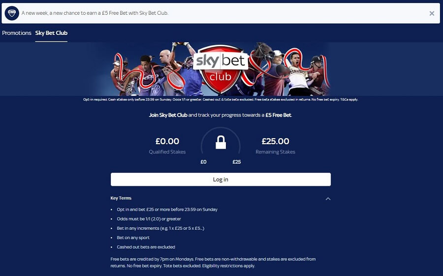 SkyBet Promotions 2
