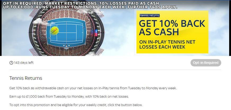 SkyBet Promotions 3