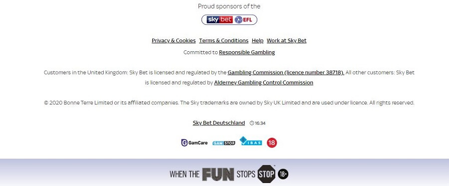 SkyBet Security