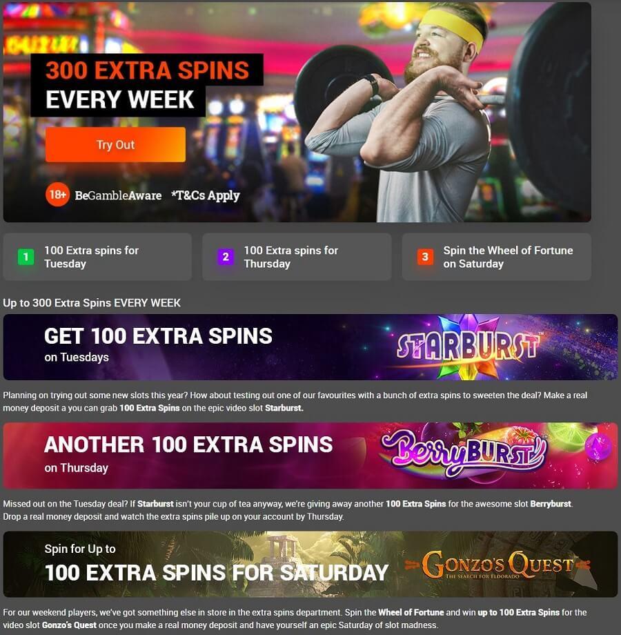 Tonybet Casino Promotions 2