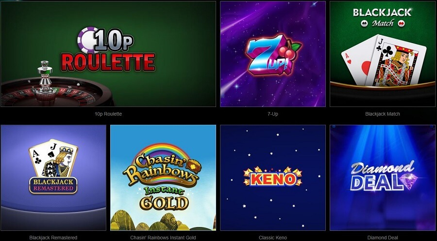 Starspins Casino Table Games
