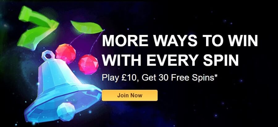 Starspins Casino Welcome Bonus